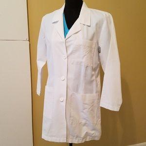 Jackets & Blazers - META White Lab Coat EUC Size 8